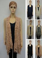 Knitted Vest [Diamond Pattern]